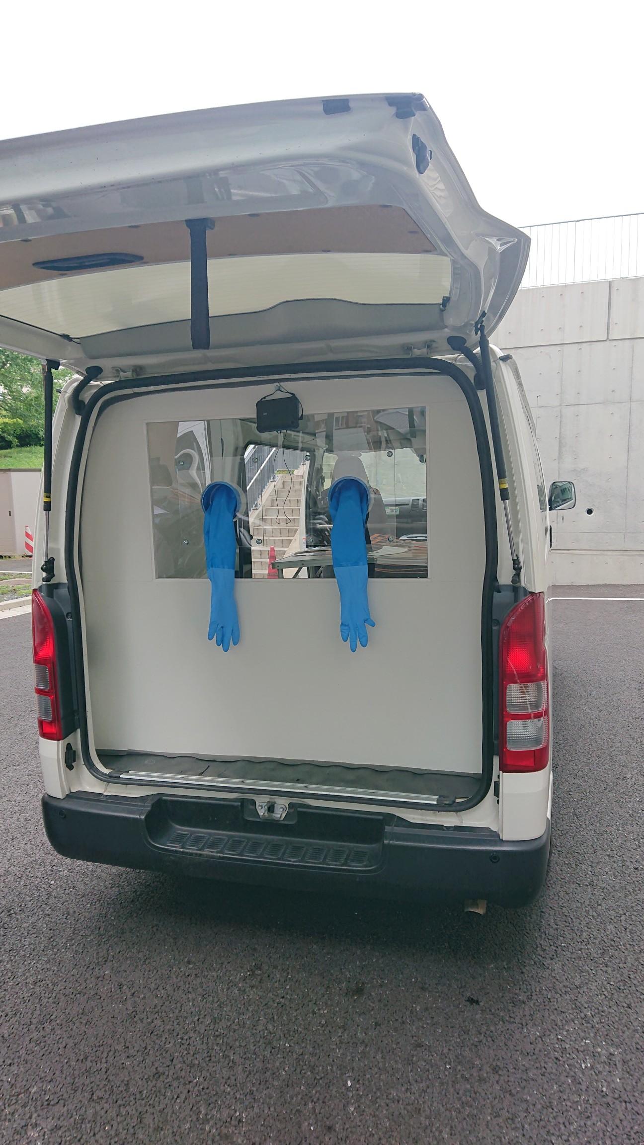 鎌ケ谷市医師会PCR検査カー